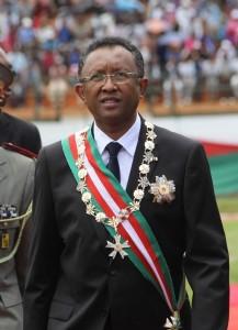 Hery Martial Rakotoarimanana Rajaonarimampianina, Presedintele Republicii Madagascar