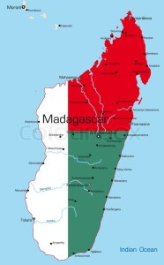 Harta Republicii Madagascar