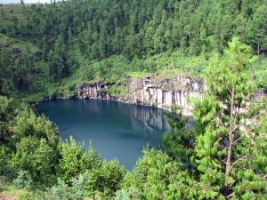 Lacul vulcanic Tritriva